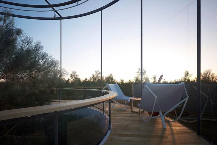 Архитектор из Казахстана разработал невероятный дом с деревом внутри!
