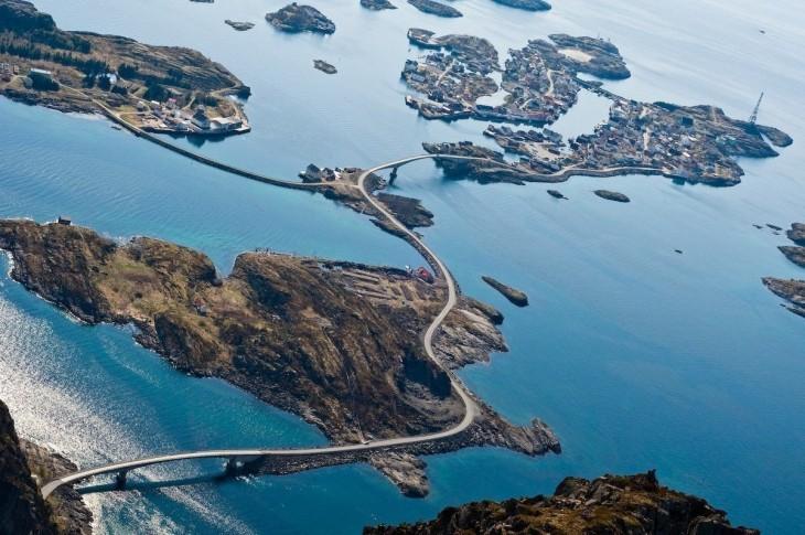 10 самых красивых автодорог мира