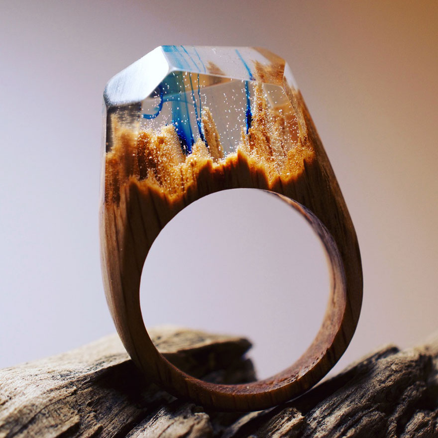 Кольца из дерева своими руками