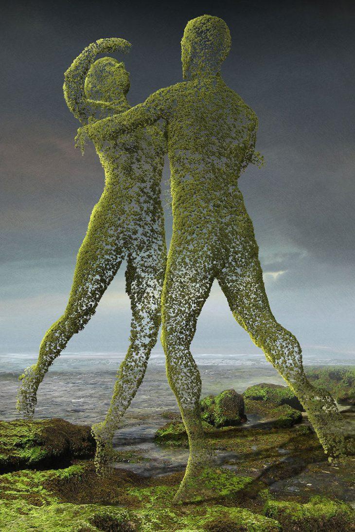 Тёмная сторона нашего общества в поразительных работах польского художника Игоря Морски