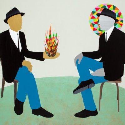 © Pedro Paricio, «Dialogue» • Halcyongallery.com