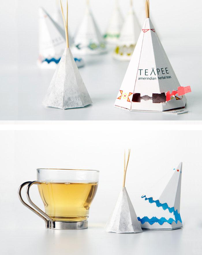 15 самых креативных чайных пакетиков, созданных дизайнерами
