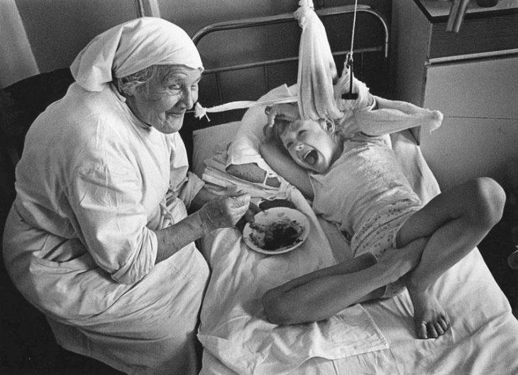 Цикл «Детские больницы» (1976–1982)