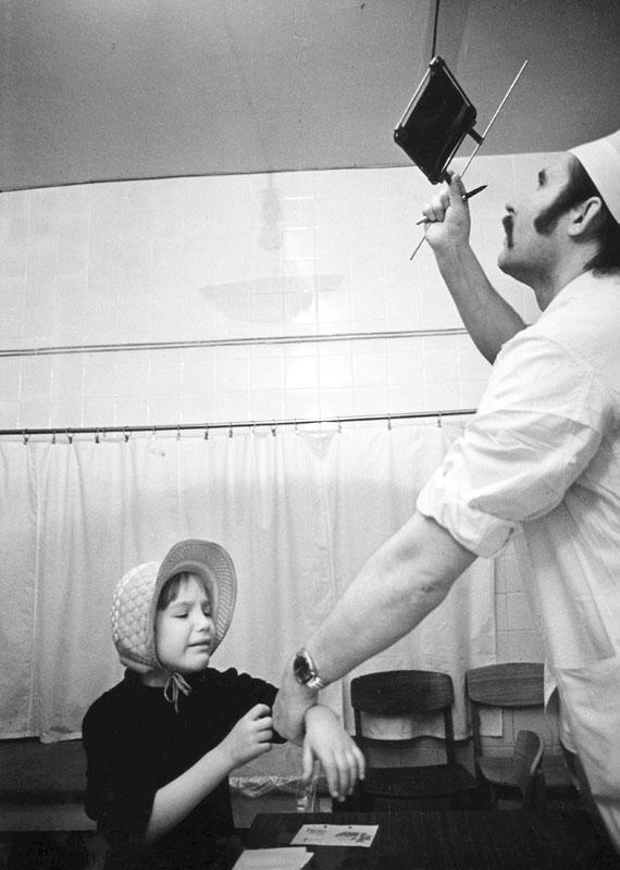 Детские больницы. 1981 год