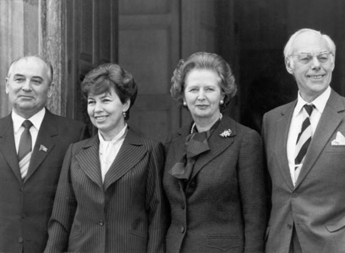 Визит четы Горбачевых в Великобританию 1989
