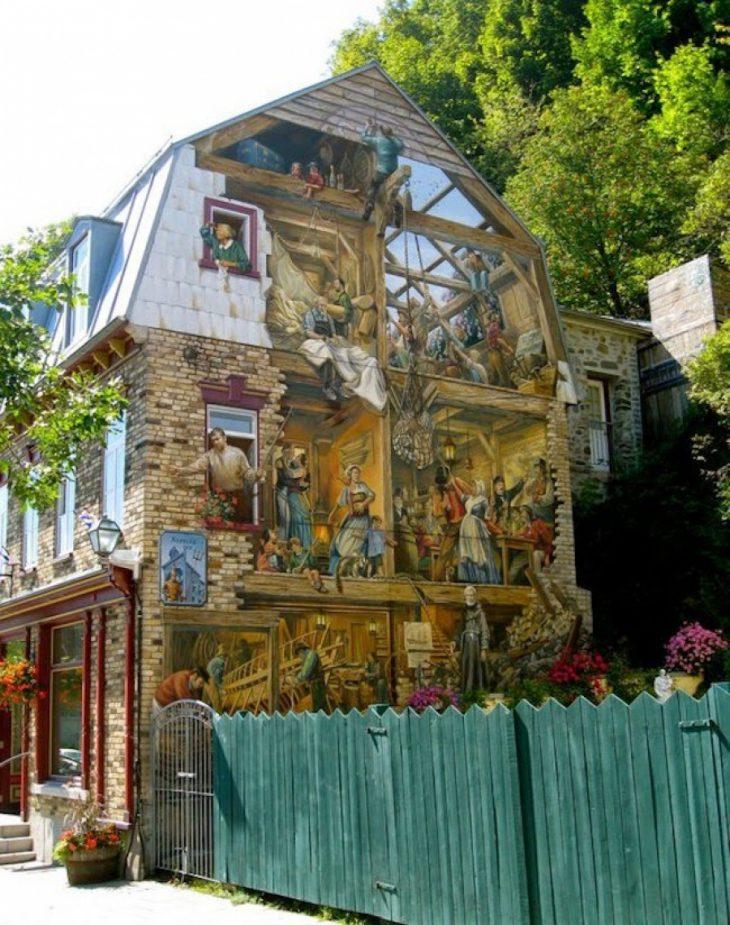15 поражающих воображение работ в жанре трёхмерного стрит арта