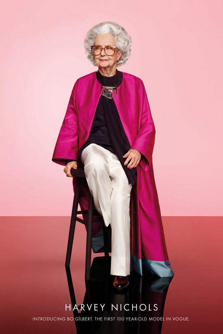100 летняя британка стала моделью Vogue!