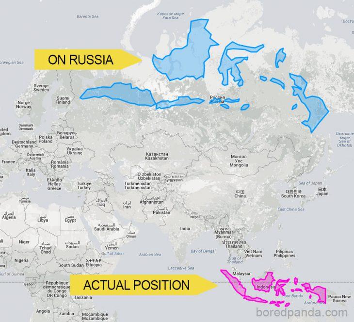 12 уникальных карт, по которым легко понять настоящие размеры стран мира