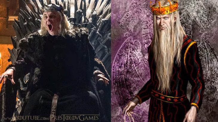 Безумный король в сериале и каким должен быть