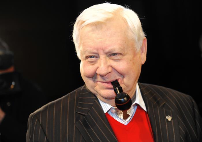 Актер театра и кино, режиссер Олег Табаков