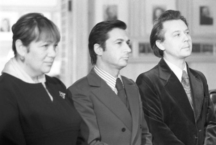Галина Волчек, Игорь Кваша и Олег Табаков