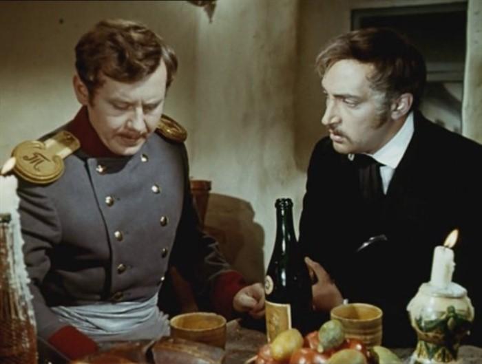 Олег Табаков и Михаил Козаков в фильме «Выстрел», 1966