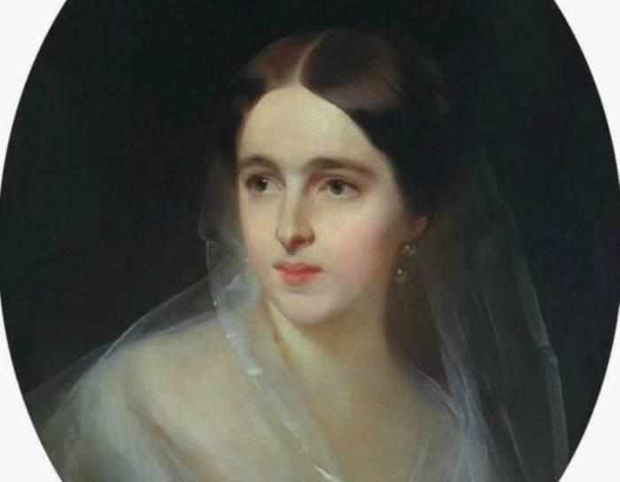 И. К. Макаров Наталия Николаевна Ланская, 1849