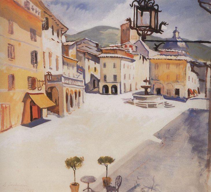 «Италия. Ассизи», 1932 год