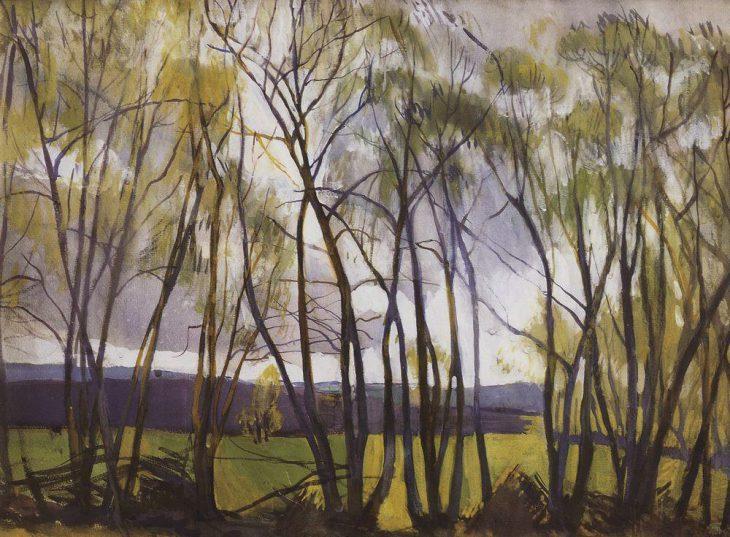 «Перед грозой» (село Нескучное), 1911 год