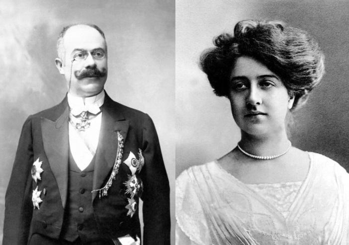 Эмиль Еллинек и его любимица, дочь Мерседес