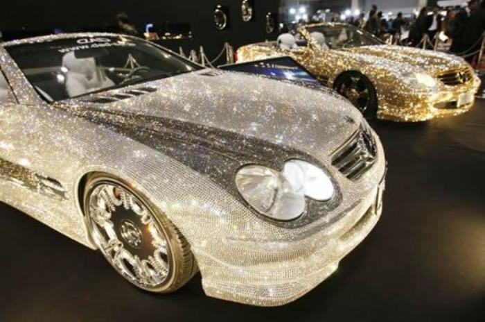Кристаллический тюнинг автомобилей