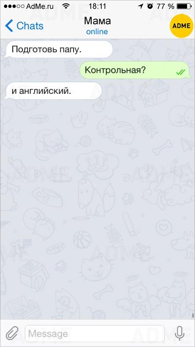 Фото 2 -10 смешных СМС ок онынешней школьной жизни, как всегда непростой