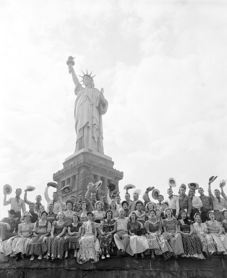 Statue Of Liberty 1955