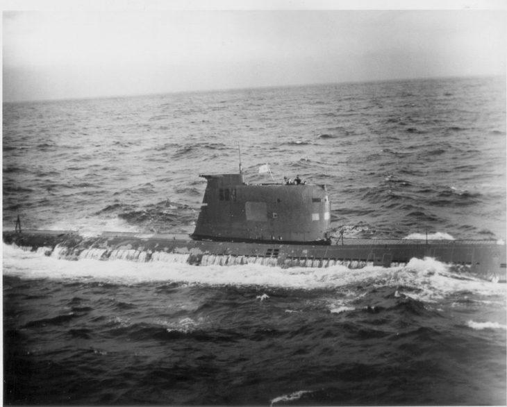 Подлодка Б-59