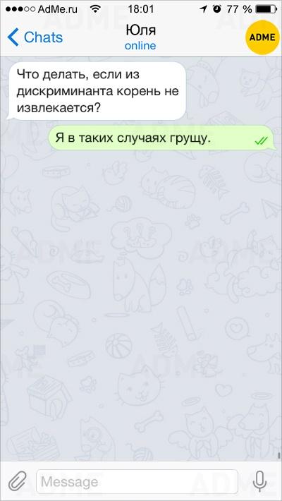 Фото 4 -10 смешных СМС ок онынешней школьной жизни, как всегда непростой