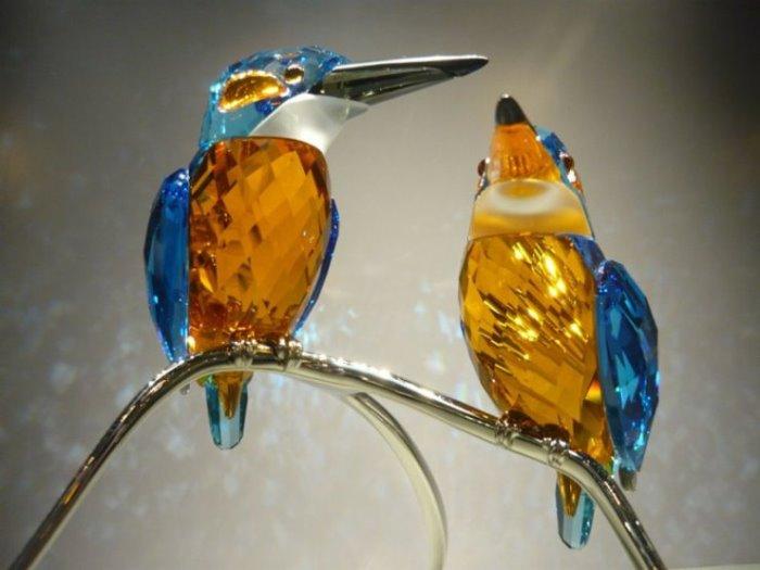 Райские птички от Сваровски