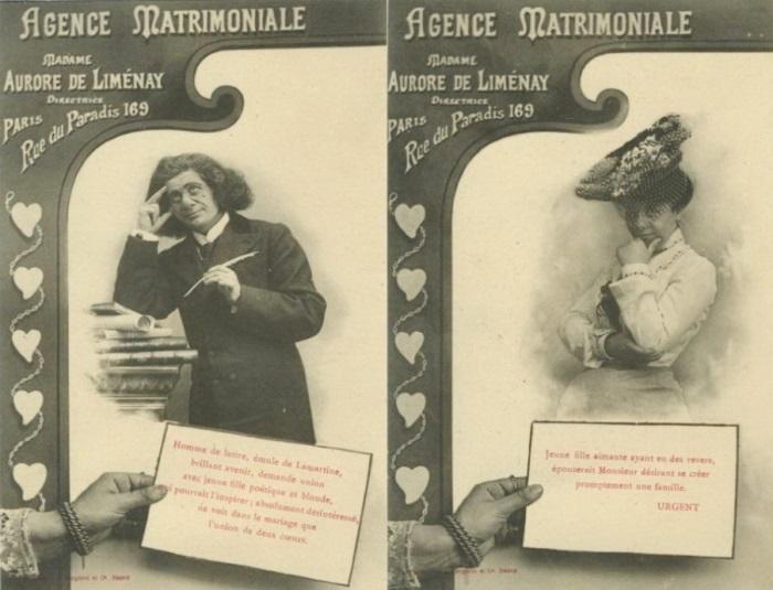 «Я беден и уродлив. Ищу полнейшего контраста»: объявления о знакомстве 19 го века