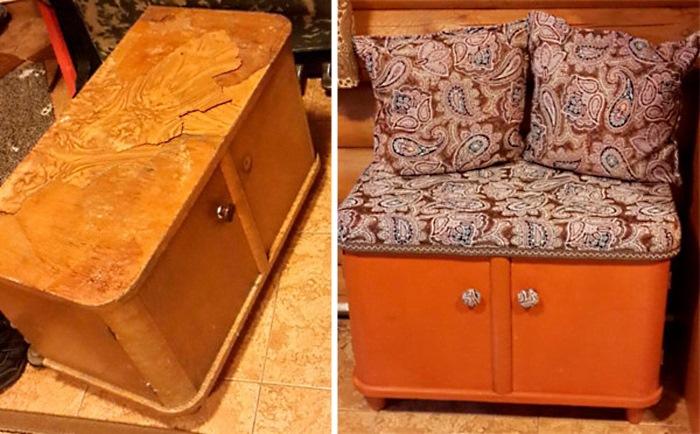 Как сделать старые мебели новым
