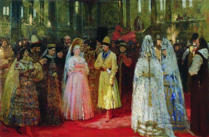Выбор царской (великокняжеской) невесты