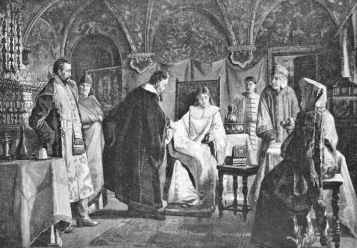 Мария Хлопова, будущая невеста царя Михаила Федоровича