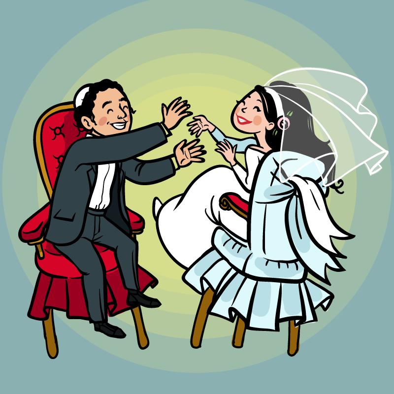 Еврейские свадебные поздравления 64